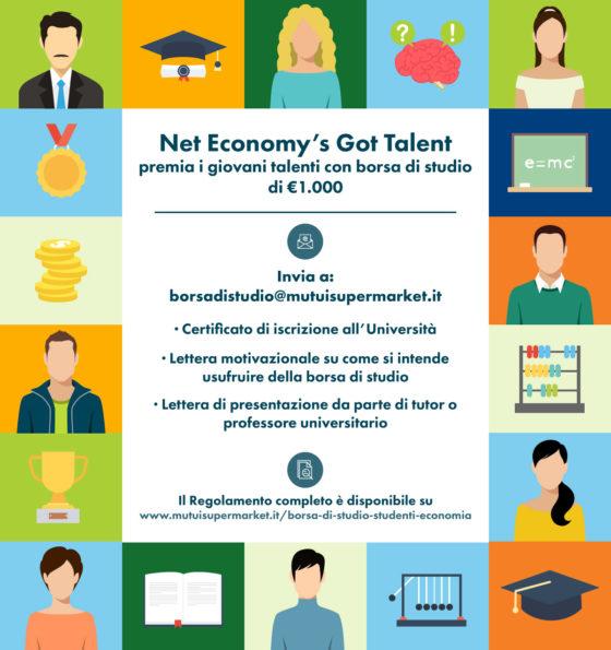 Net Economy's Got Talent: l'iniziativa che premia i giovani talenti